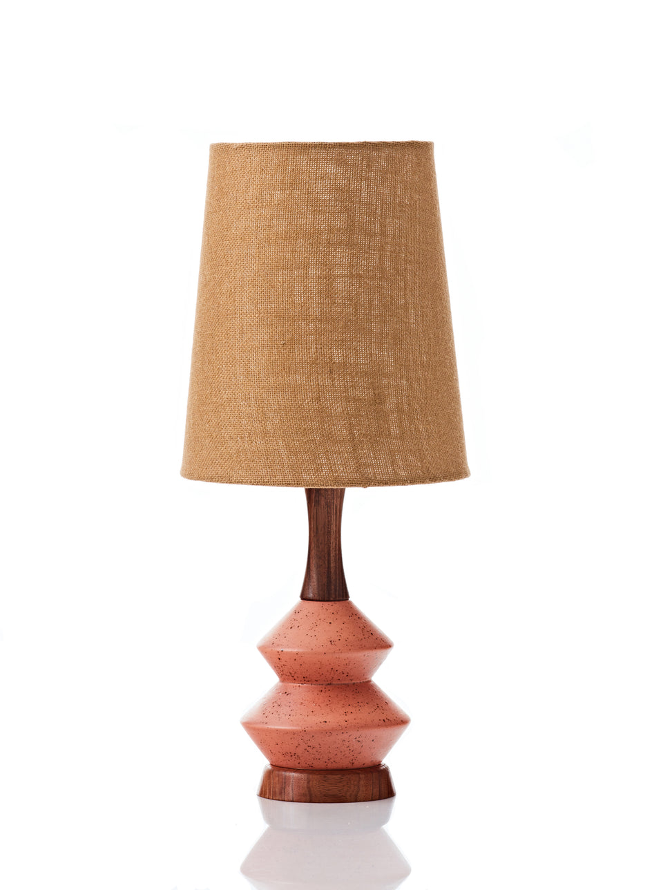 Athena Lamp • Small - Copper Hessian