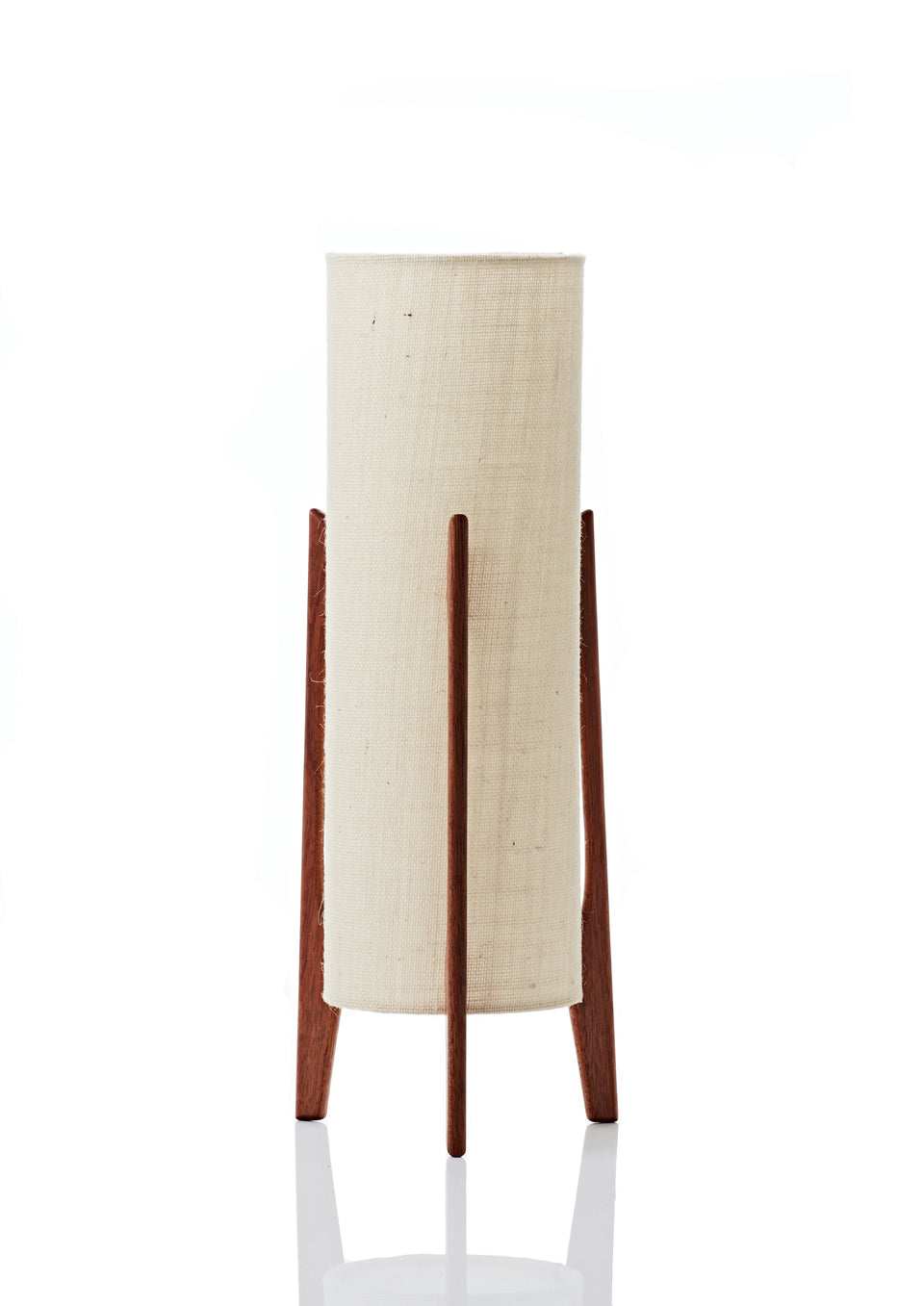 Rocket Table Lamp • Tall - Vanilla Hessian