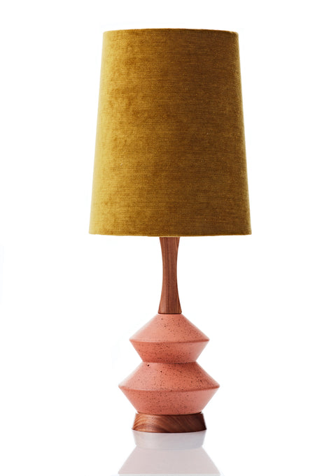 Athena Lamp • Large - Gold Velvet