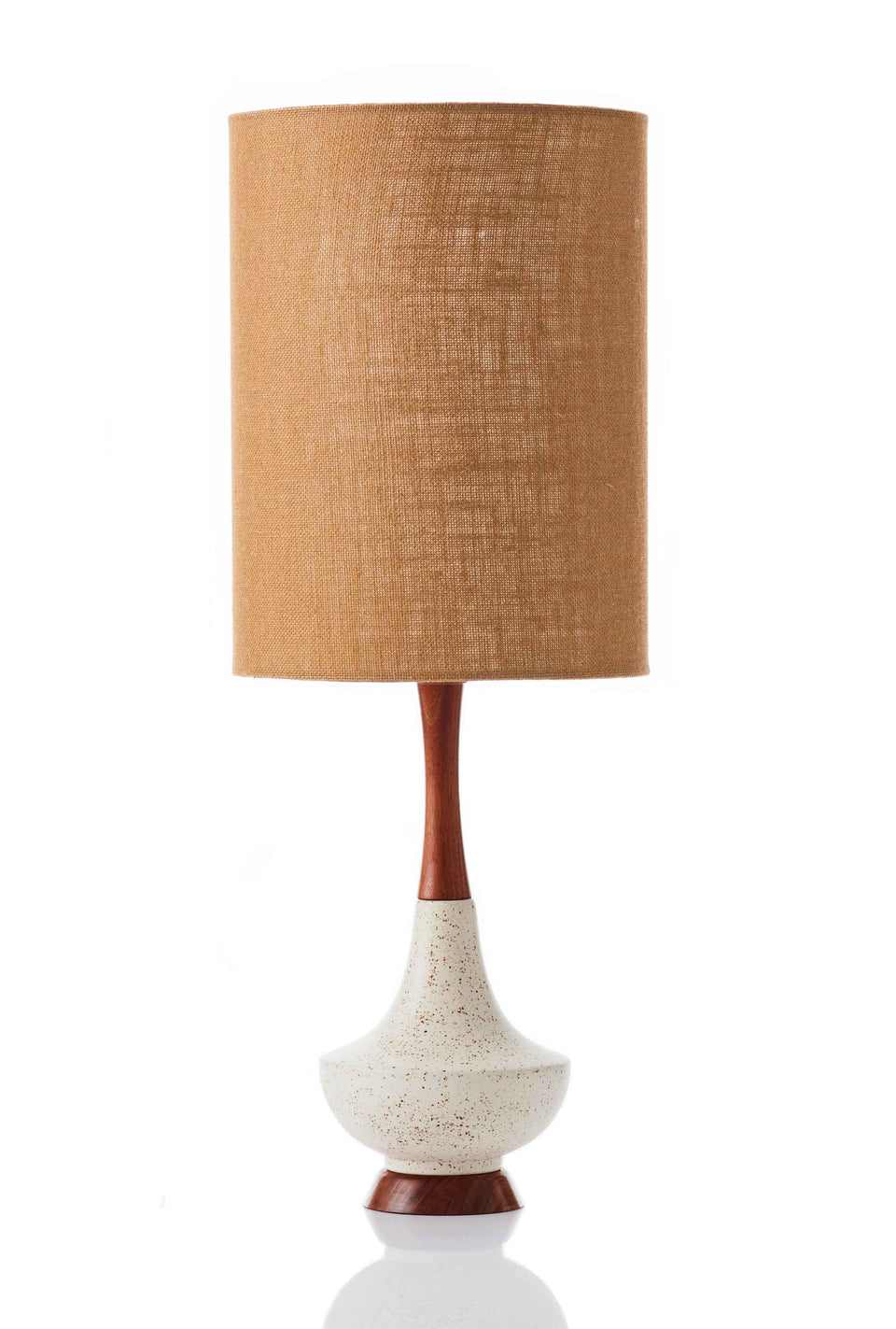 Electra Lamp • Large - Copper Hessian