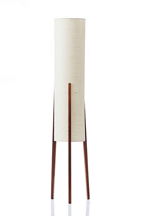 Rocket Floor Lamp • Medium - Vanilla Hessian