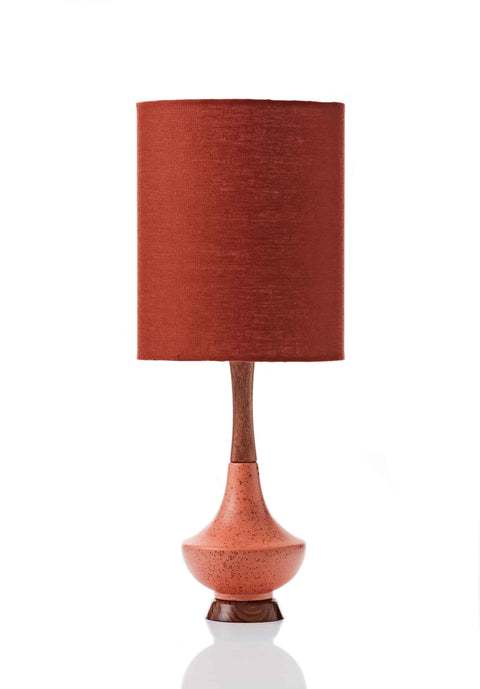 Electra Lamp • Small - Paprika Linen