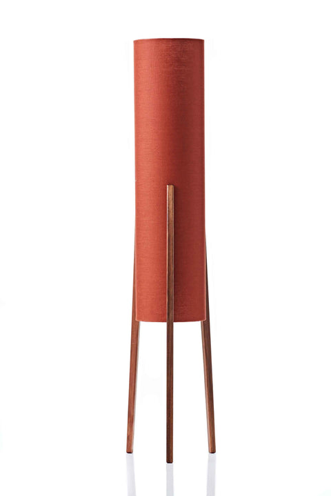 Rocket Floor Lamp Medium - Paprika Linen