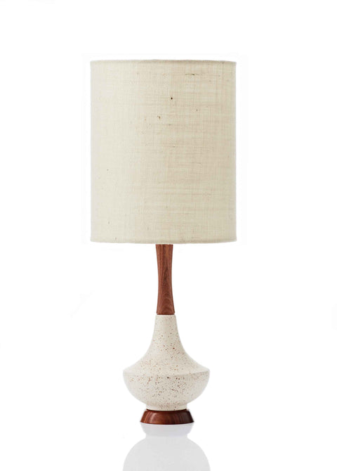 Electra Lamp • Small - Vanilla Hessian