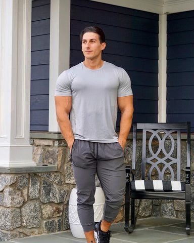 joggers. good mens outfit for running
