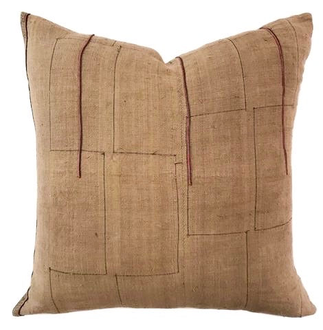 Pillow - Vintage Brown Batik