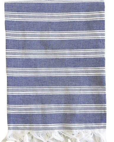 Turkish Towel - Denim Blue