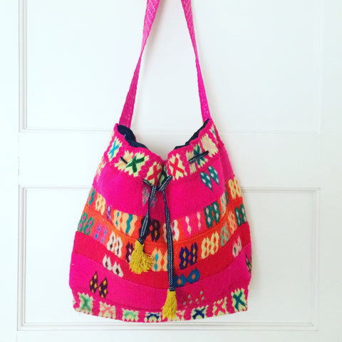 Purse - Peruvian Neon Embroidered