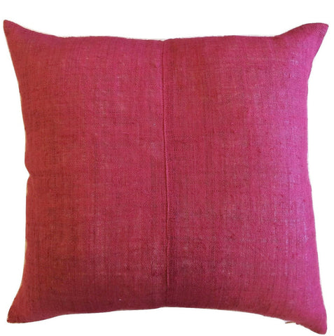 Pillow - Vintage Hand Dyed Hemp
