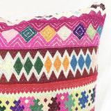 Pillow - Peruvian Geometric Embroidered