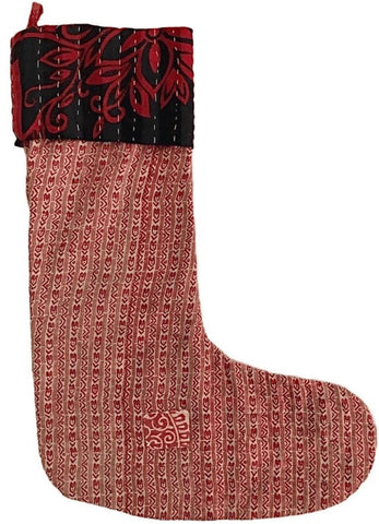 Kantha Stocking