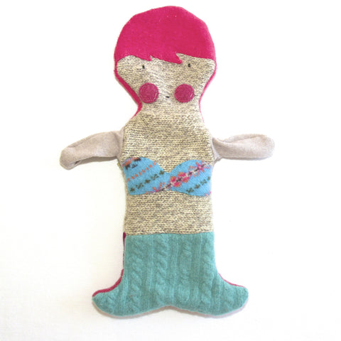 Hand Puppet Mermaid - Pink