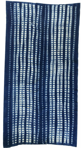 Throw- African indigo