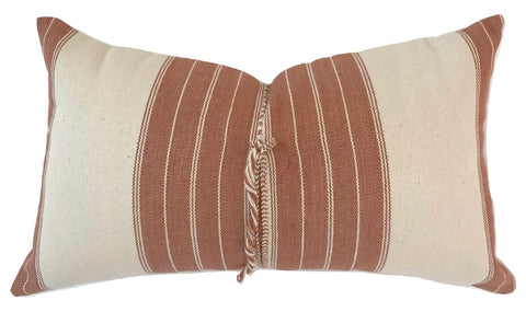 Pillow - Vintage Hmong Neutral Lumbar