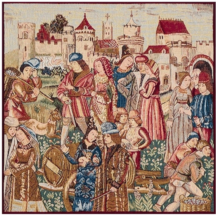 medieval tapestries