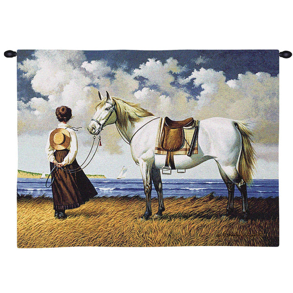 Sea Captains Wife Wall Tapestry