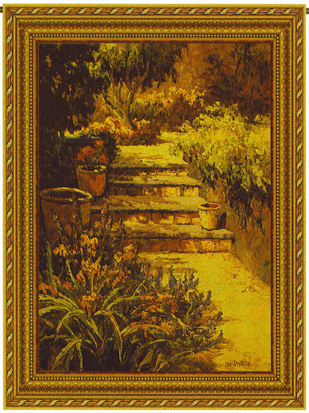 Sunlit Path Wall Hanging