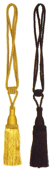 Gold or Black Tapestry  Decorative Tassels
