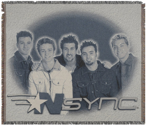 NSYNC Tapestry Throw