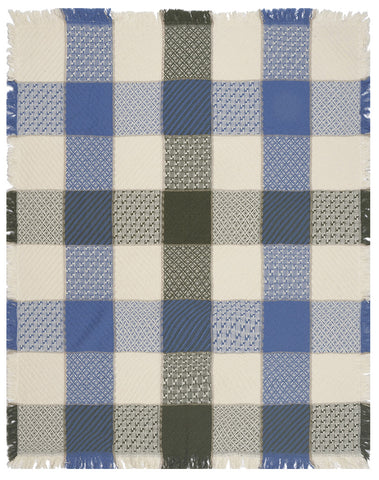Buffalo Check Tapestry Throw