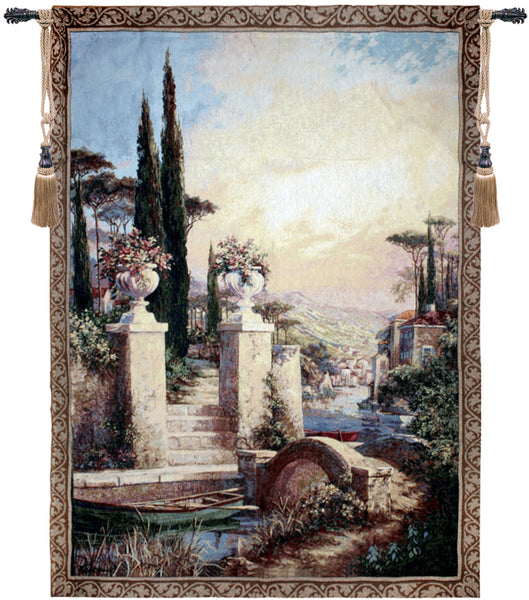 La Barchetta Tapestry Wall Hanging