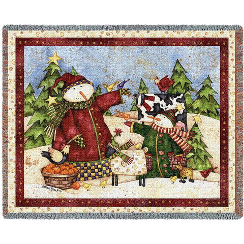 Magic Snowmen Blanket