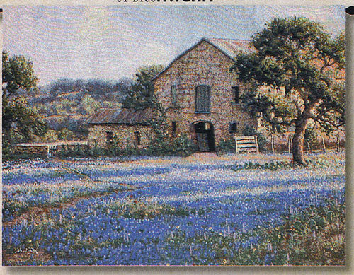 Field of Flowers Tapestry Wall Hanging