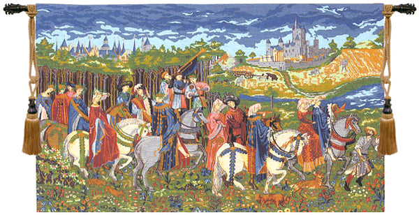 Duke of Berry I European Tapestry