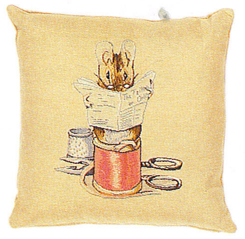 Tailor or Gloucester Beatrix Potter  European Cushion Cover