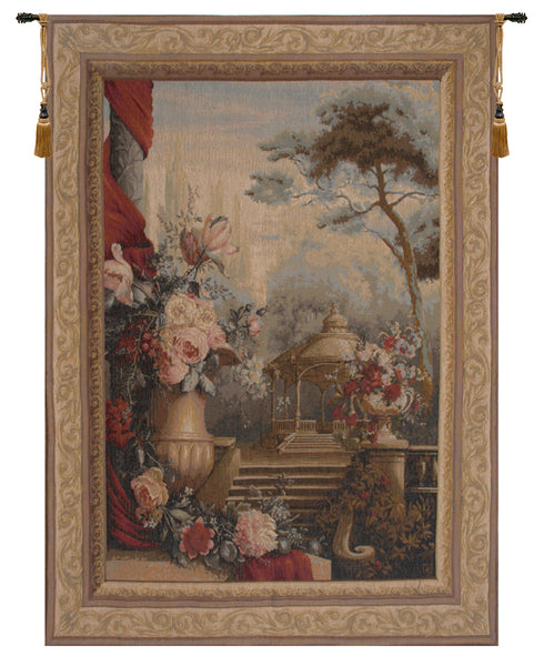 Bouquet Jardin Garden   French Tapestry