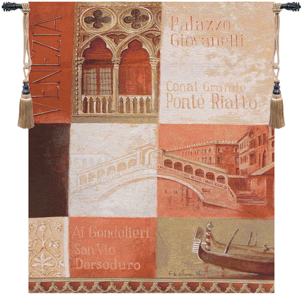 Ponte Rialto Tapestry Wall Hanging