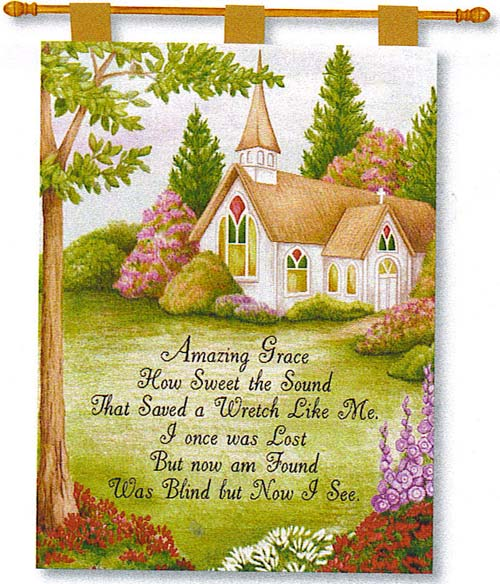 Amazing Grace Fine Art Tapestry