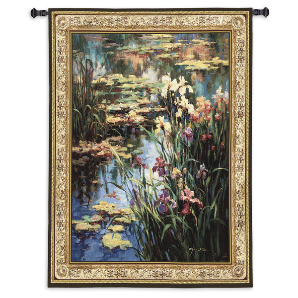 Summer Lily Tapestry Wall Hanging