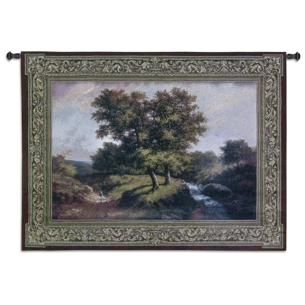 Summer Stroll Tapestry Wall Hanging