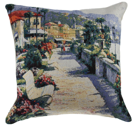 Park Bench Decorative Pillow Cushion Cover
