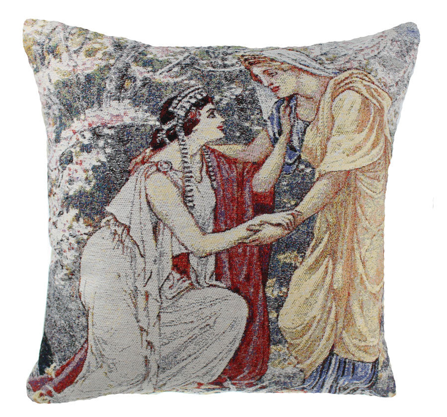 Demeter and Persephone Decorative Pillow Cushion Cover