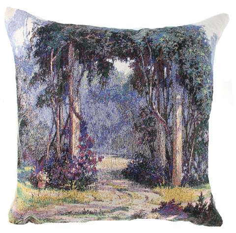 Fanciful Walk Decorative Pillow Cushion Cover