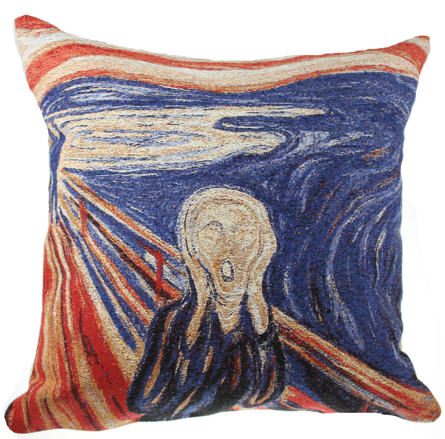 Scream Decorative Pillow Cushion Cover