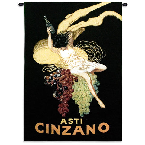 Cinzano wine Tapestry Wall Hanging