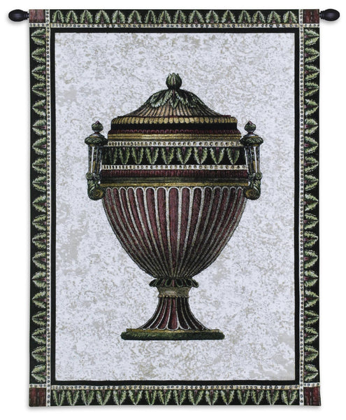 Empire Urn II Tapestry Wall Hanging