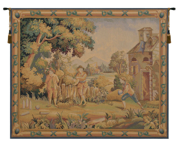 Game Belgian Tapestry Wall Hanging