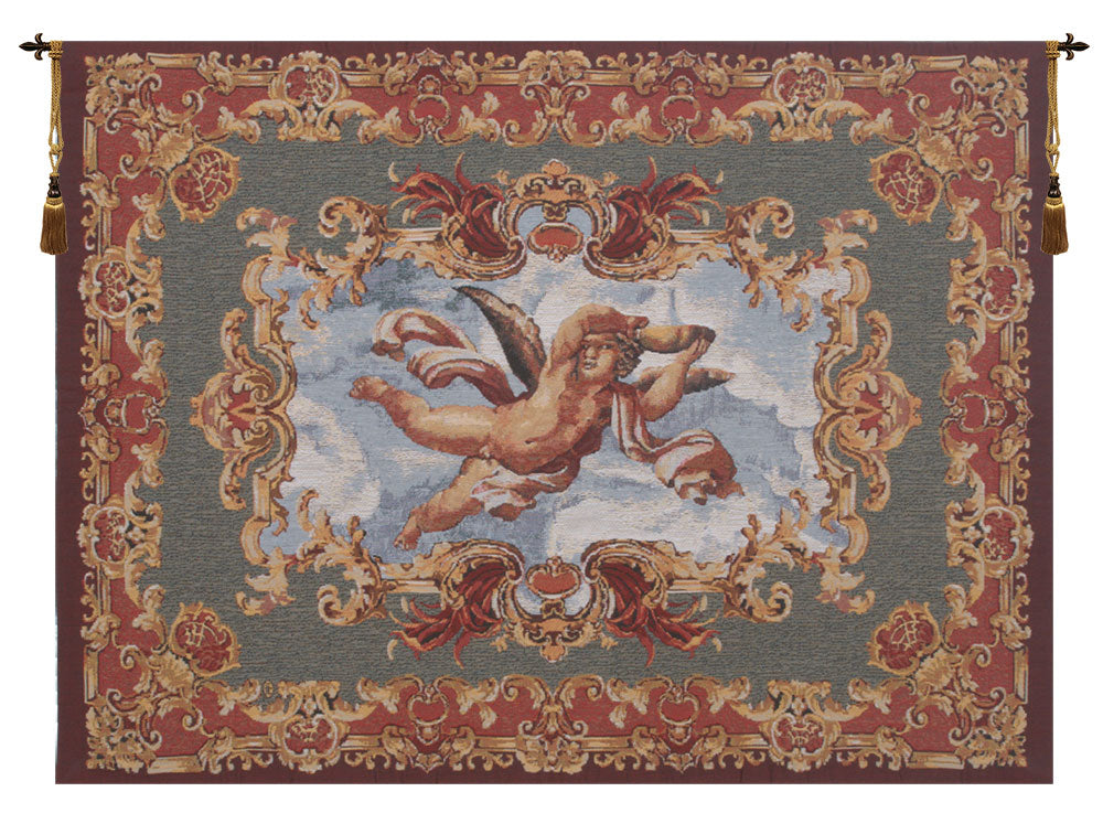 Angels Farnese Belgian Tapestry Wall Hanging