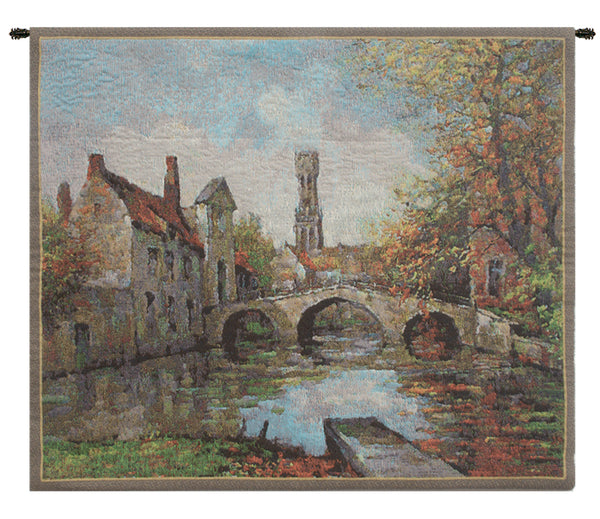Lake of Love Small Belgian Tapestry Wall Hanging