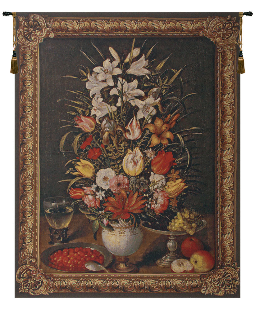 Antique Breughel Large Belgian Tapestry Wall Hanging