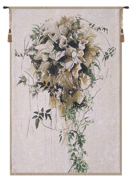Bride Belgian Tapestry Wall Hanging