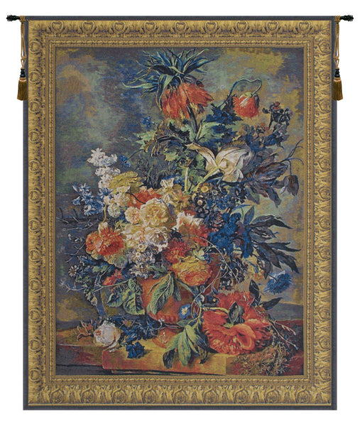 Bouquet Dore Belgian Tapestry Wall Hanging