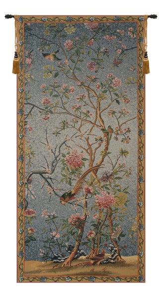 Spring Blossom Belgian Tapestry Wall Hanging