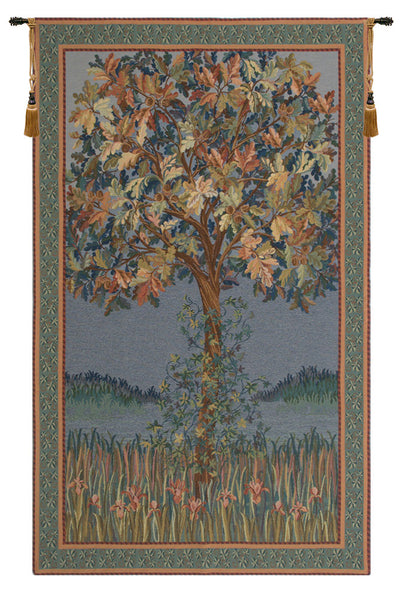Tree of Life Flanders Belgian Tapestry Wall Hanging