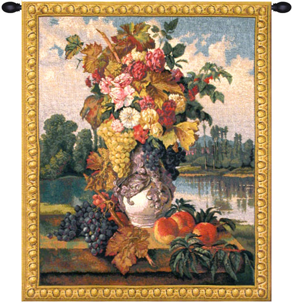 Reflections Small Belgian Tapestry Wall Hanging