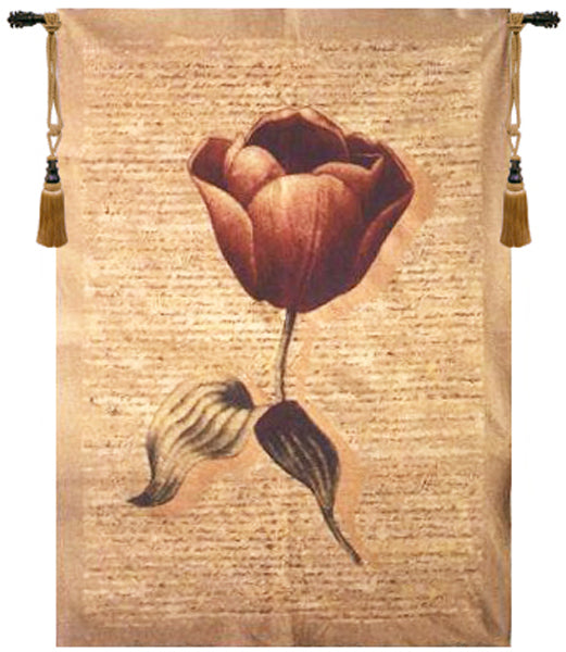 Flanders Poppies II Tapestry Wall Hanging